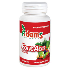 Acid Folic 400mcg, 30 tablete