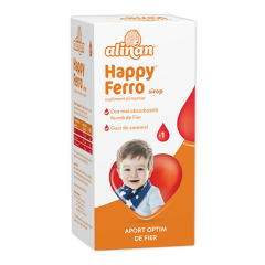 Alinan  Happy ferro, sirop, 100ml