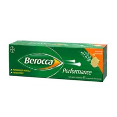 Berocca Performance, 15 comprimate efervescente, Bayer