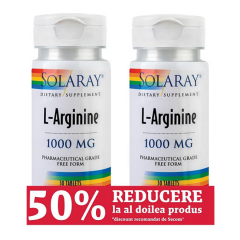 L-Arginine 1000mg, 1+1, 60 tablete, Secom