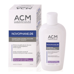 Novophane DS Șampon anti mătreață, descuamare moderată, 300ml, ACM