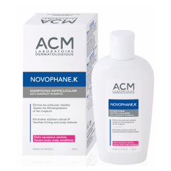 Novophane K Șampon ANTI-MĂTREAȚĂ, 125 ml, ACM