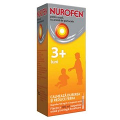 Nurofen Copii 3 luni+ Suspensie Orala Orange 100 ml
