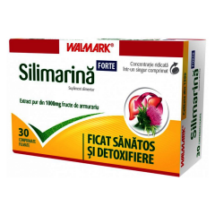 Silimarina Forte 1000 mg, 30 comprimate