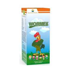 Wormex, Sirop impotriva parazitilor intestinali, 200 ml, Sun Wave Pharma
