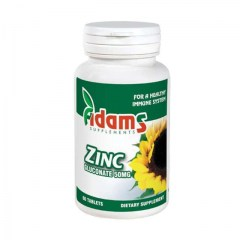 Zinc 50mg 60tablete, Adams Vision